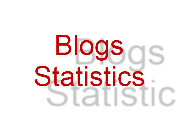 احصائيات المدونات
